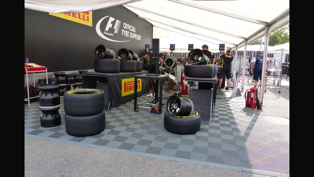 Pirelli - GP Italien - Monza - Donnerstag - 3.9.2015