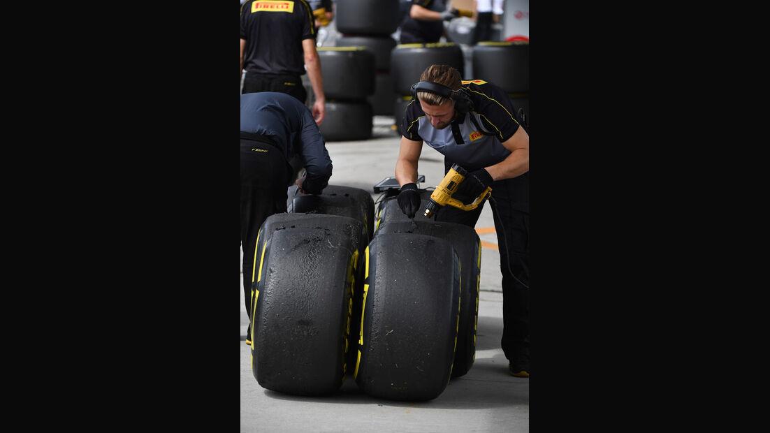 Pirelli - GP Japan - Suzuka - Formel 1 - Freitag - 5.10.2018