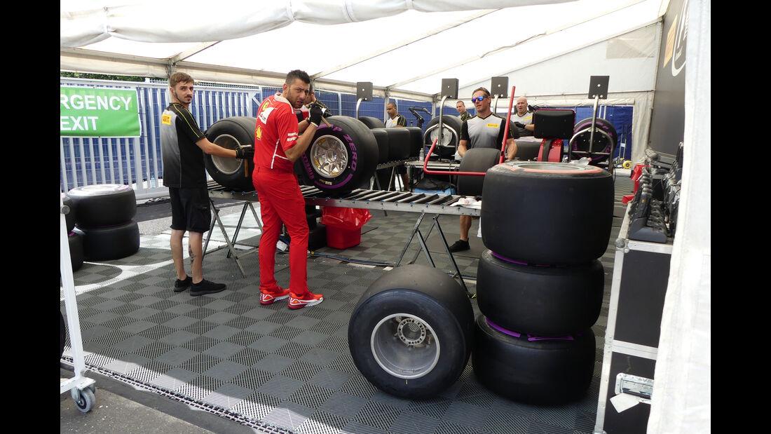 Pirelli - GP Österreich 2017 - Spielberg - Formel 1 - Mittwoch - 5.7.2017