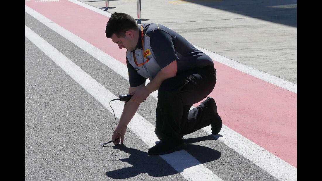 Pirelli - GP Russland - Sotschi - Formel 1 - 27. April 2017