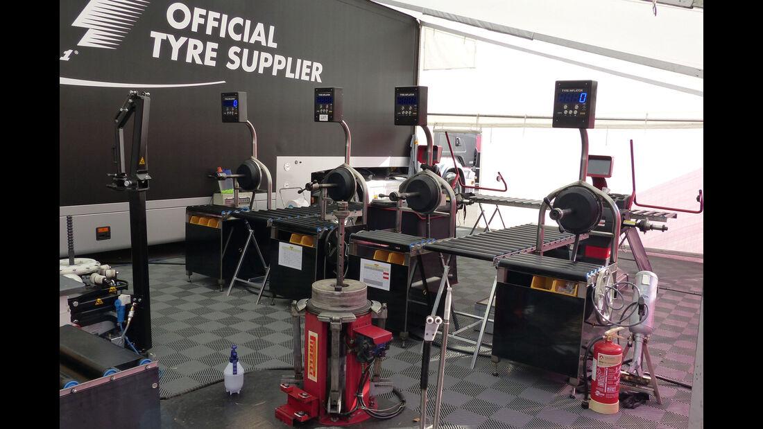 Pirelli - GP Spanien - Samstag - 9.5.2015