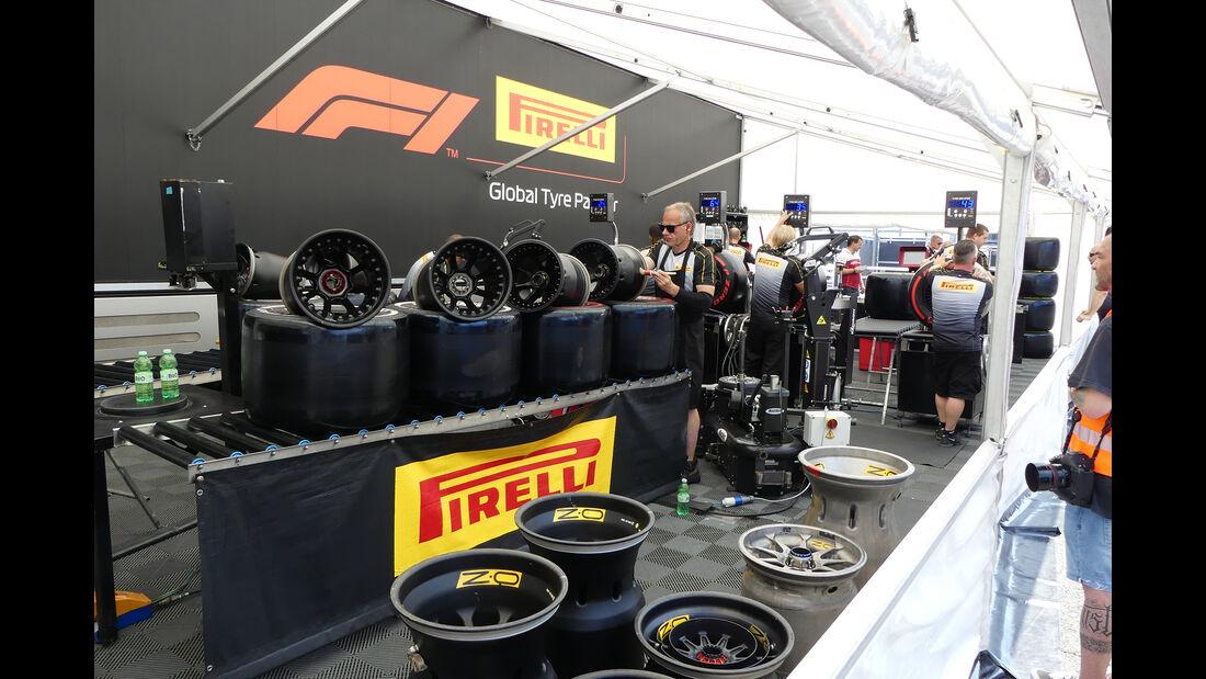 Pirelli - GP Ungarn - Budapest - Hungaroring - Mittwoch - 31.07.2019