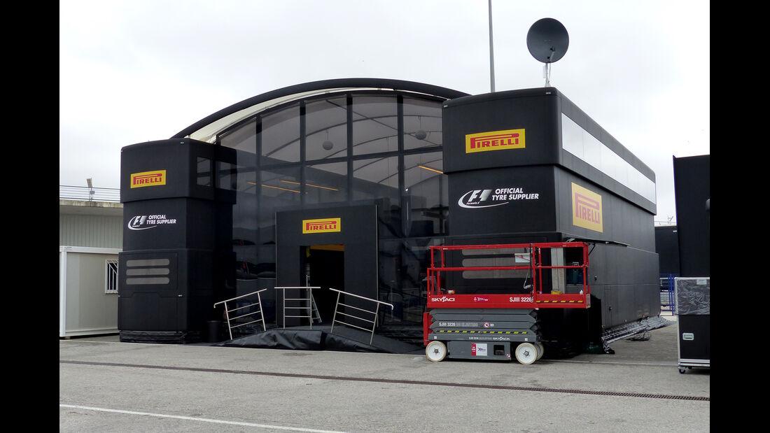 Pirelli - Impressionen - Jerez - Formel 1-Test - 30. Januar 2015