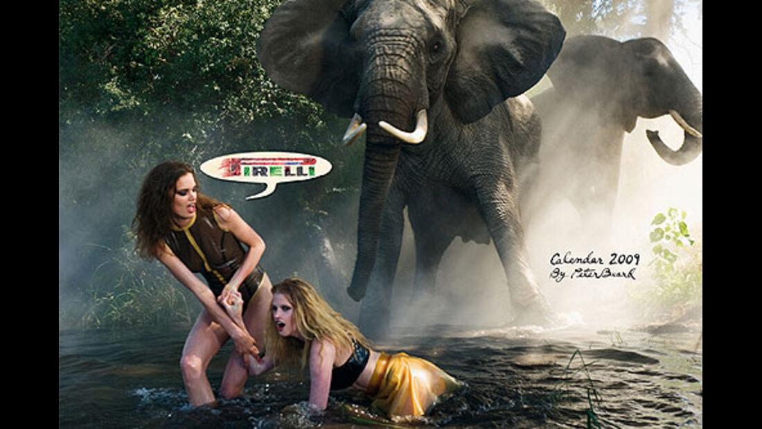 Pirelli-Kalender 2009