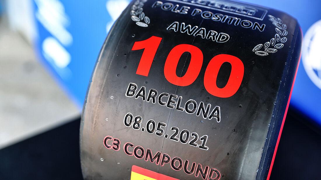 Pirelli - Lewis Hamilton - GP Spanien 2021