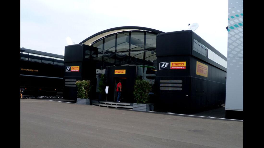Pirelli-Motorhome - GP Italien - 8. September 2011