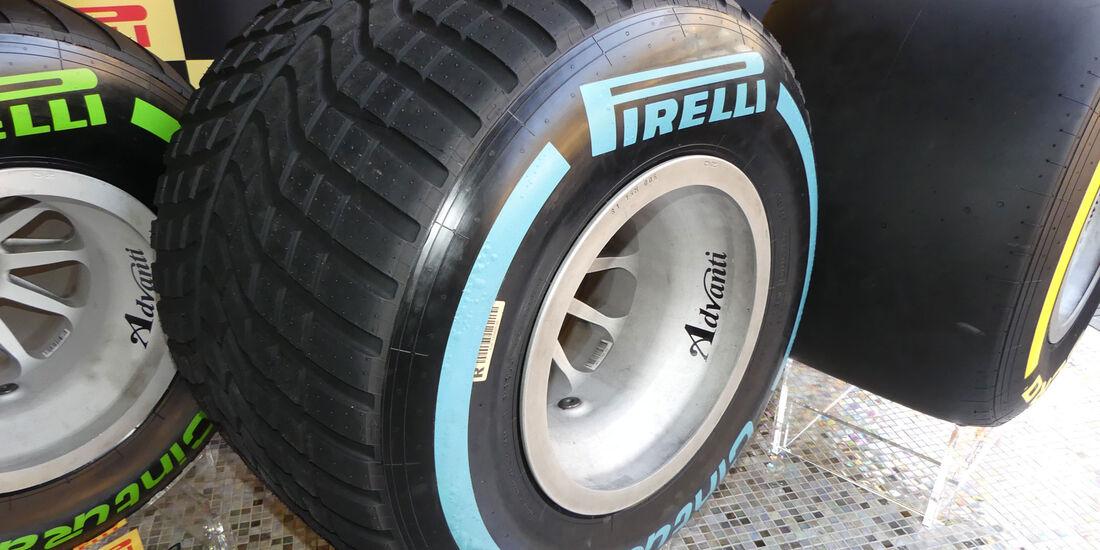 Pirelli - Reifen 2017 - Regenreifen - Abu Dhabi