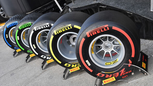 Pirelli-Reifen 2019 - Formel 1