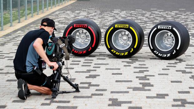 Pirelli-Reifen - 70 Jahre F1 GP - Silverstone - Formel 1 - 6. August 2020