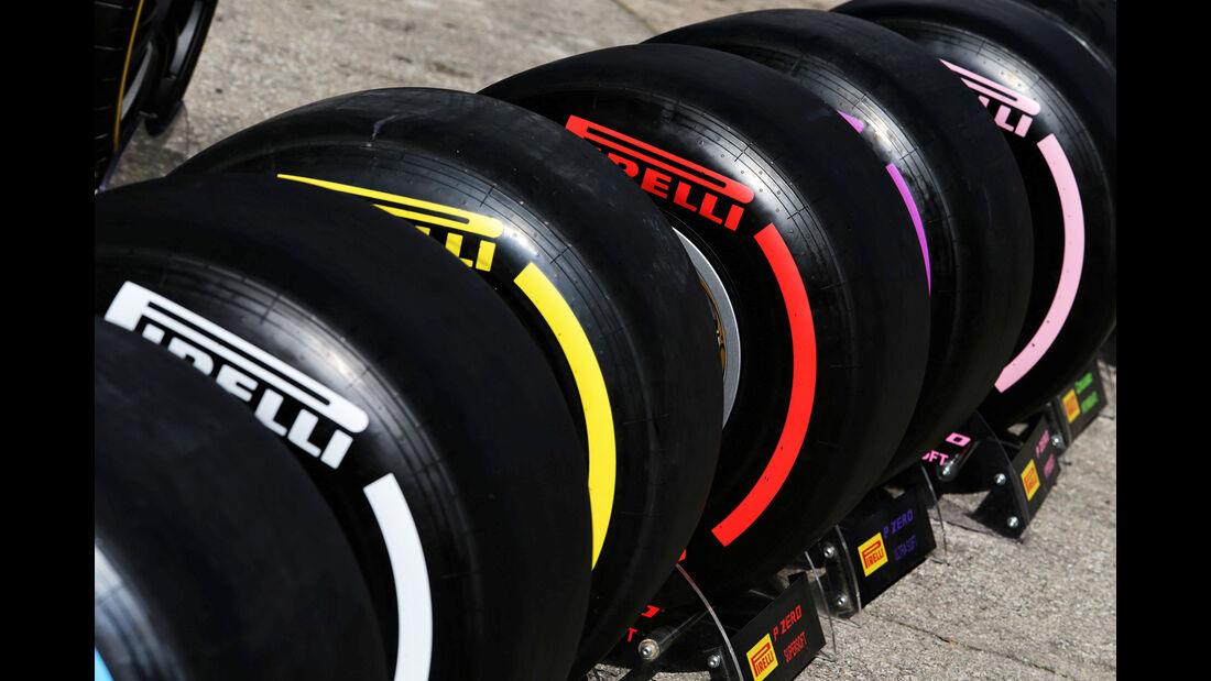 Pirelli-Reifen - F1-Test - Barcelona - Tag 6 - 7. März 2018
