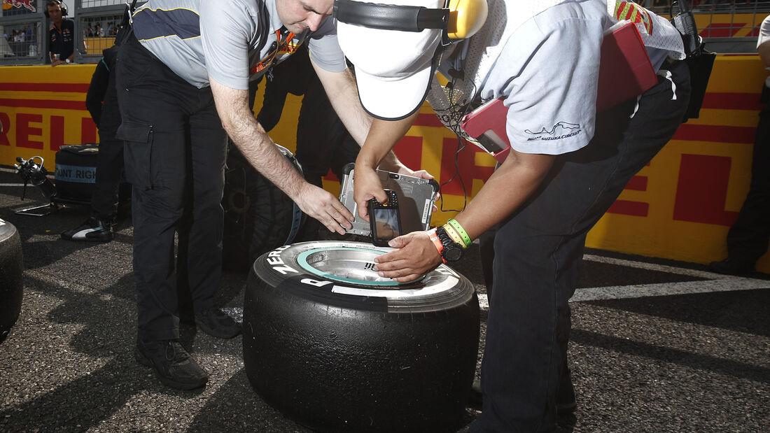 Pirelli - Reifen - Formel 1 - 2015