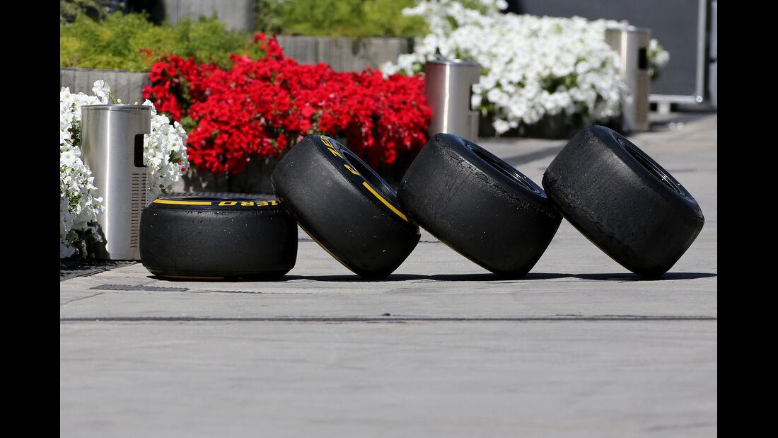 Pirelli-Reifen - Formel 1 - Bahrain - Test - 2. März 2014