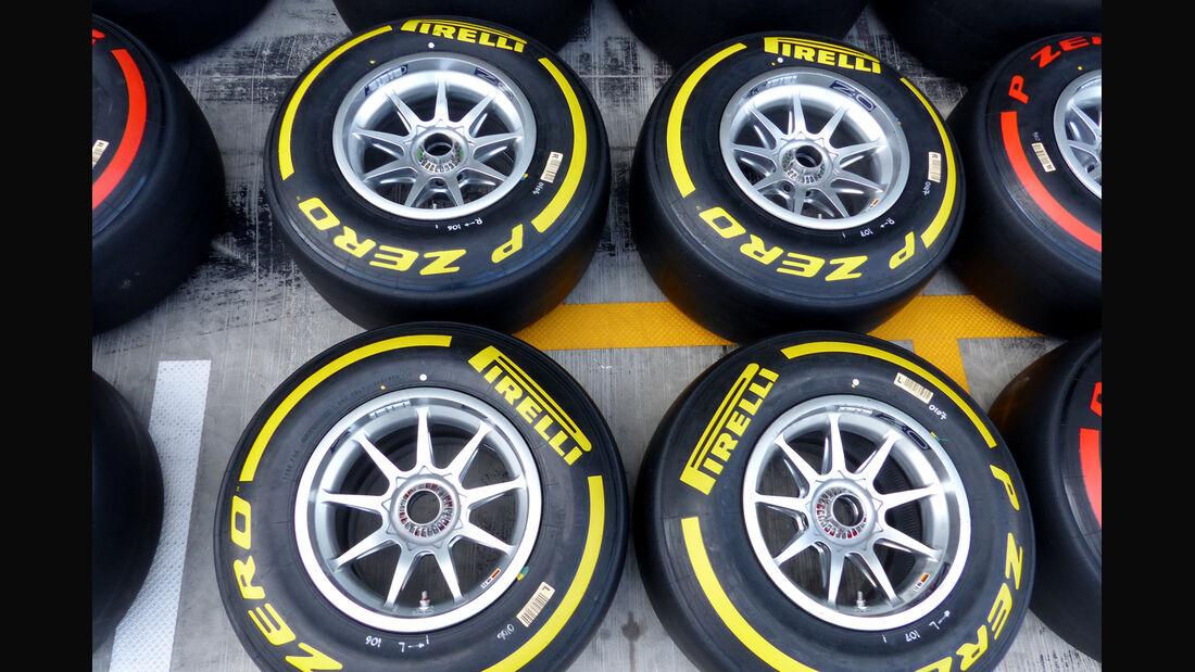 Pirelli-Reifen - Formel 1 - GP Abu Dhabi - 20. November 2014