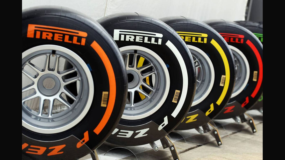 Pirelli Reifen - Formel 1 - GP England - 29. Juni 2013