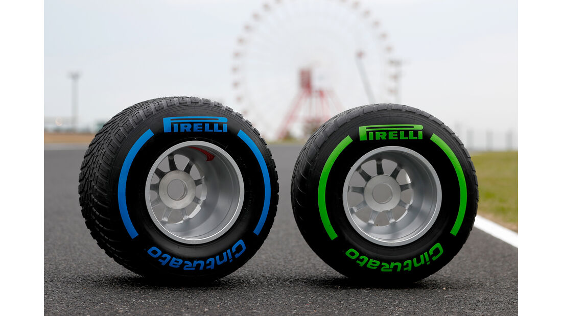 Pirelli-Reifen - Formel 1 - GP Japan - Suzuka - 10. Oktober 2019