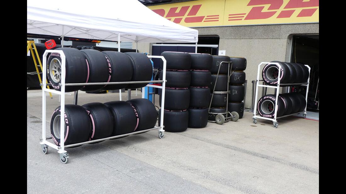 Pirelli-Reifen - Formel 1 - GP Kanada - Montreal - 6. Juni 2018