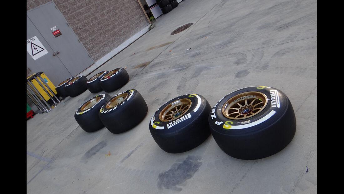 Pirelli-Reifen - Formel 1 - GP Korea - 2. Oktober 2013