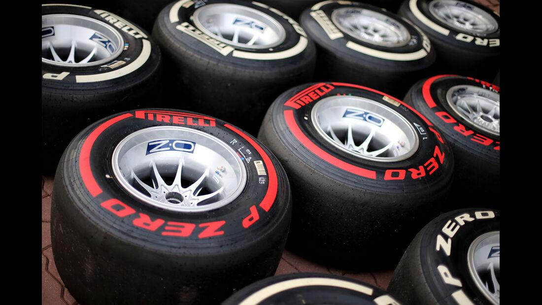 Pirelli-Reifen - Formel 1 - GP Korea - 5. Oktober 2013