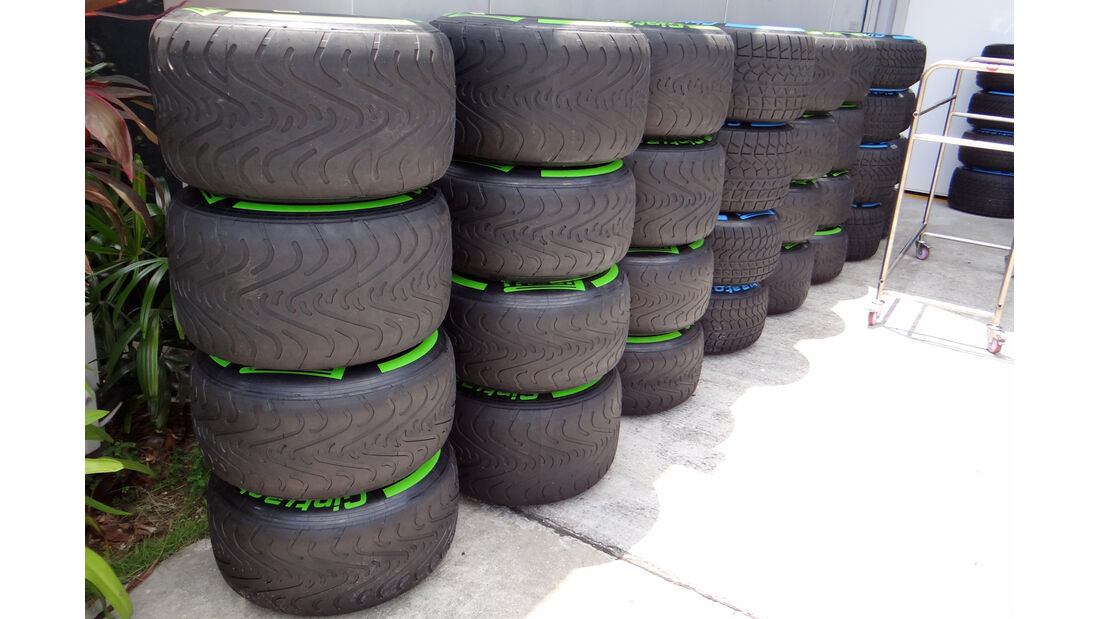 Pirelli-Reifen - Formel 1 - GP Malaysia - 20. März 201