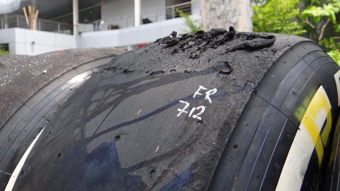 Pirelli-Reifen - Formel 1 - GP Malaysia - 21. März 2013