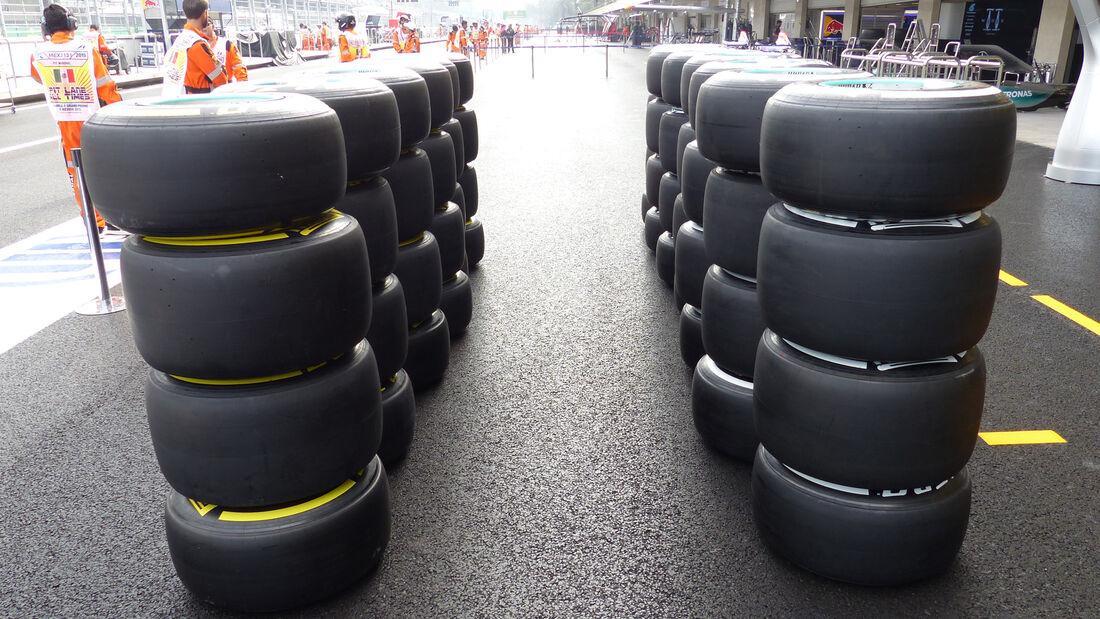 Pirelli-Reifen - Formel 1 - GP Mexico - 29. Oktober 2015