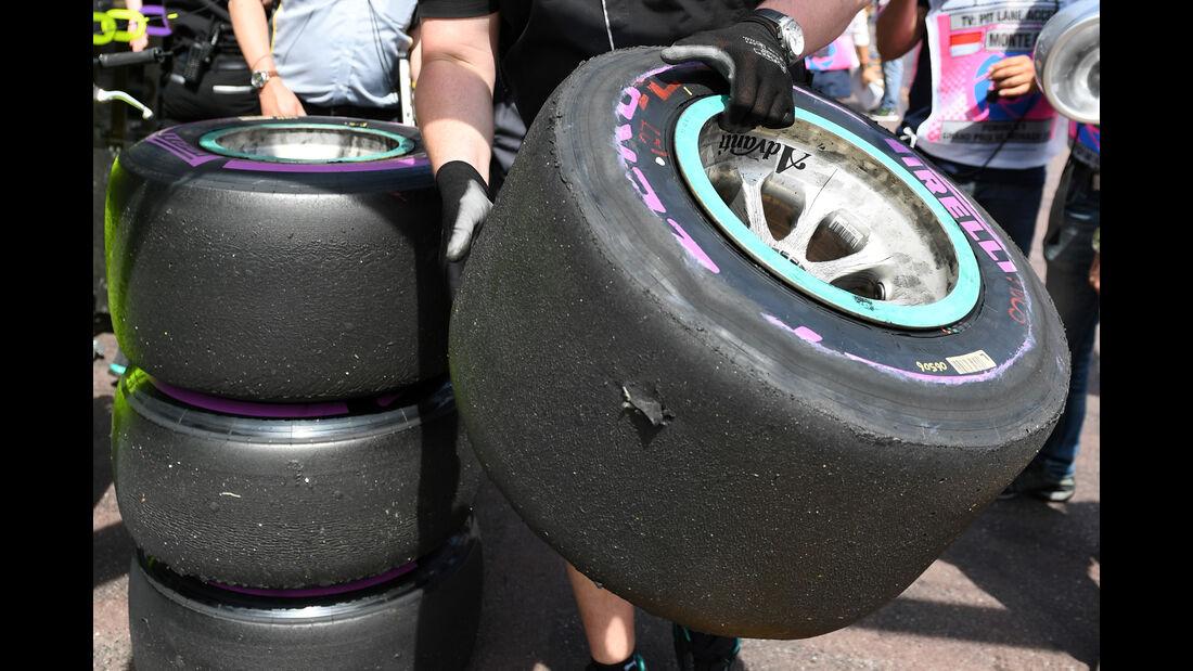 Pirelli-Reifen - Formel 1 - GP Monaco - 26. Mai 2016