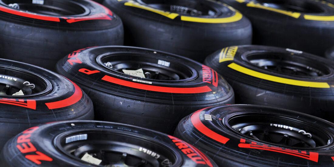 Pirelli-Reifen - Formel 1 - GP Singapur - 20. September 2012