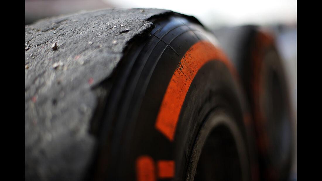 Pirelli-Reifen - Formel 1 - GP Spanien 2013