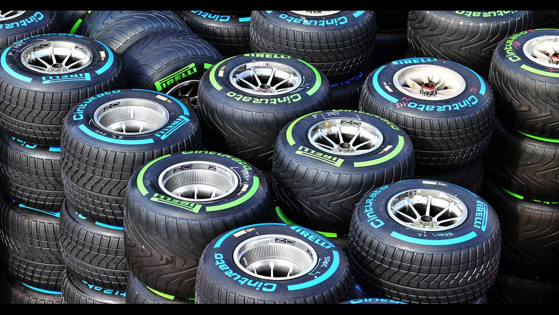 Pirelli - Reifen - Formel 1 - GP Spanien - Donnerstag - 6.5.2021