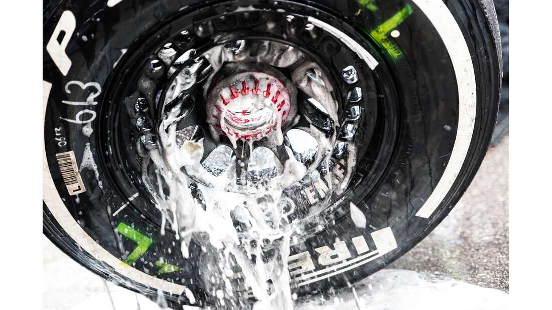 Pirelli-Reifen - Formel 1 - GP USA - 16. November 2013