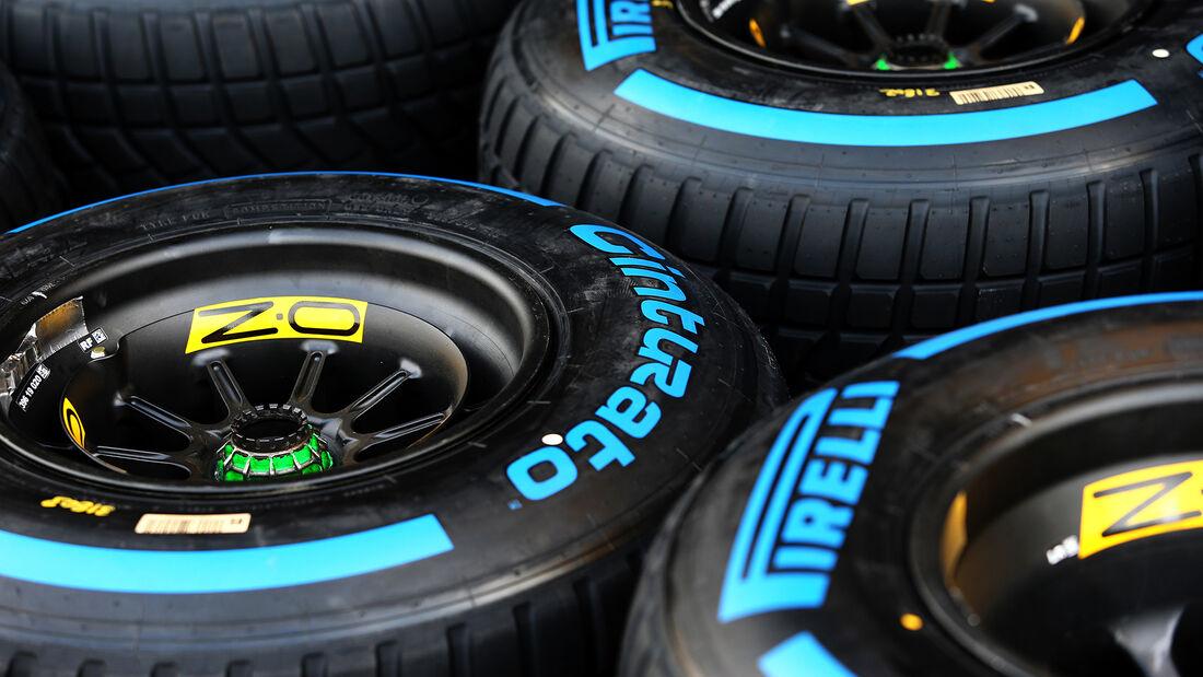 Pirelli-Reifen - Formel 1 - GP Ungarn - Budapest - 16. Juli 2020