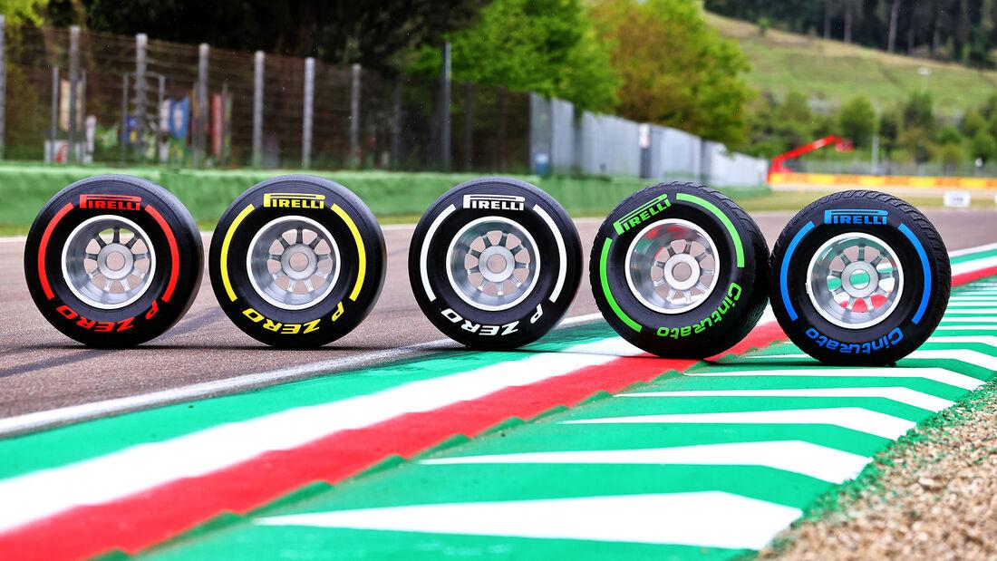Pirelli-Reifen - Formel 1 - Imola - GP Emilia-Romagna - 15. April 2021