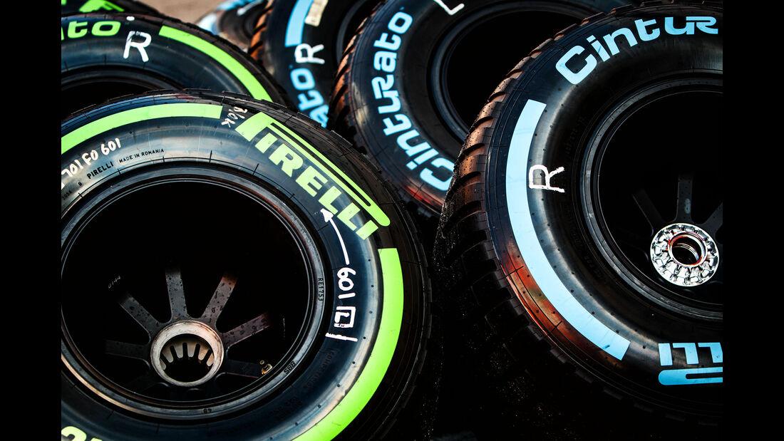 Pirelli-Reifen - Formel 1 - Test - Barcelona - 2. März 2017
