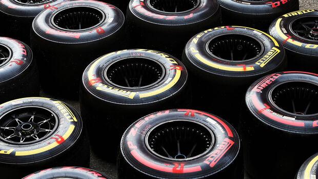 Pirelli - Reifen - Formel 1 - Testfahrten - Barcelona 2020