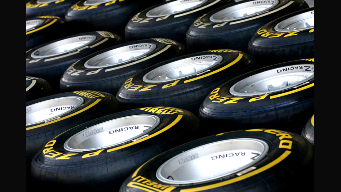 Pirelli-Reifen - GP Abu Dhabi - 10. November 2011