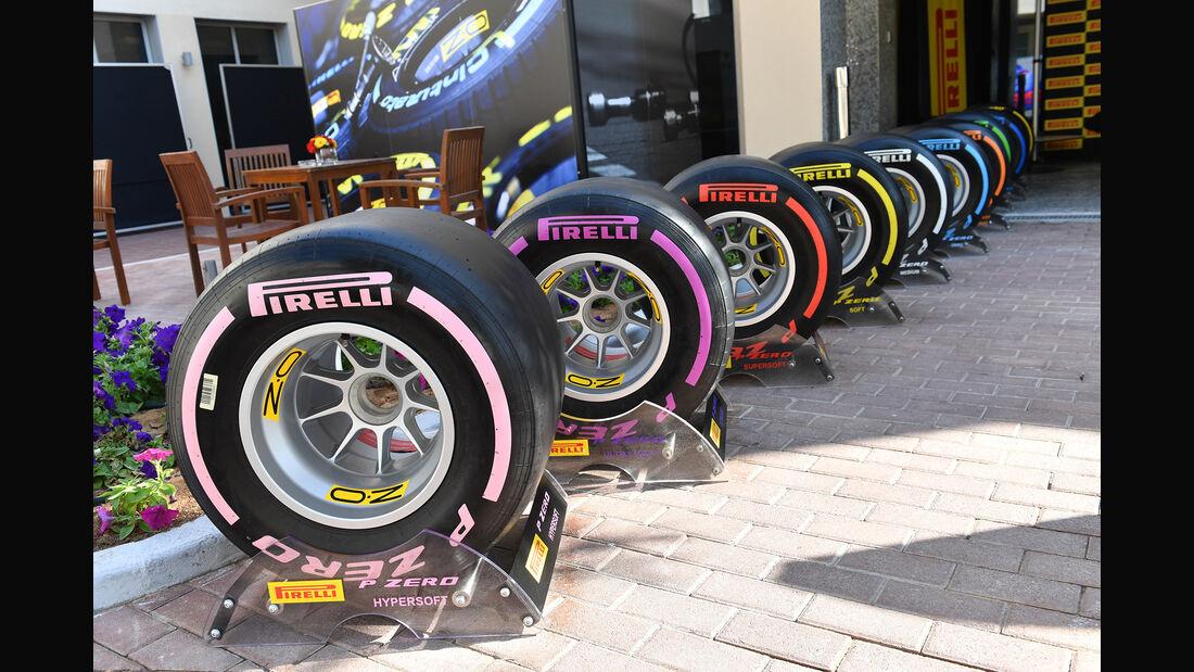 Pirelli-Reifen - GP Abu Dhabi - Formel 1 - 22. November 2018