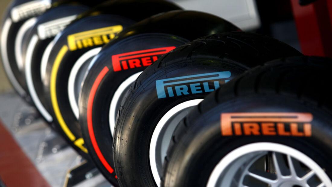 Pirelli-Reifen - GP Brasilien - 25. November 2011