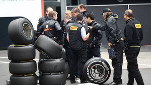 Pirelli Reifen - GP Deutschland - Nürburgring - 23. Juli 2011