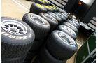 Pirelli Reifen - GP England - Silverstone - Do. 7. Juli 2011