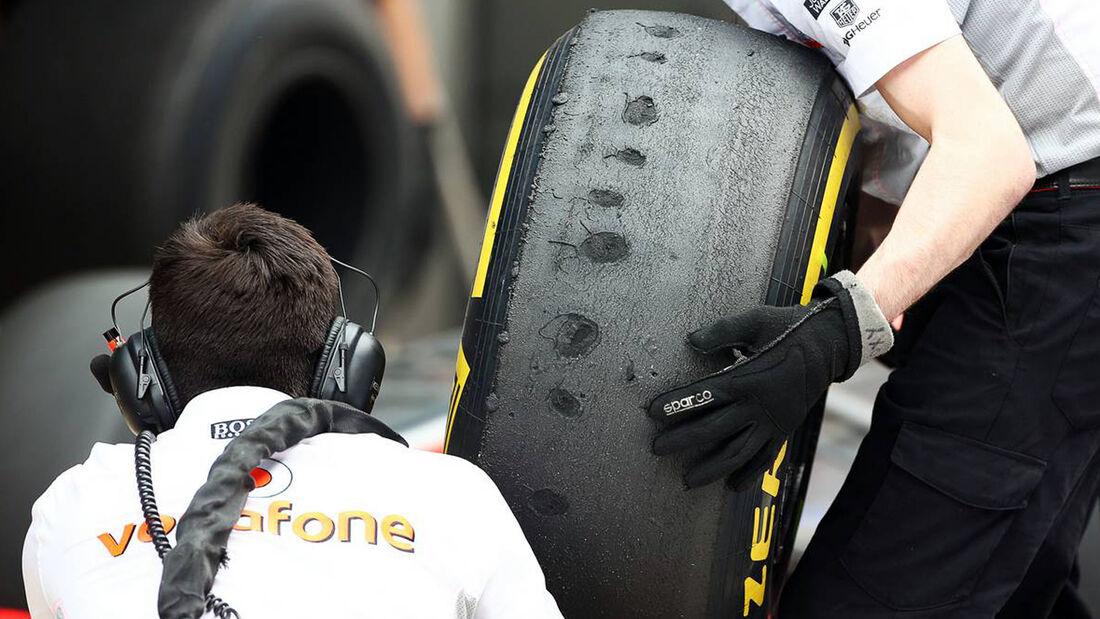 Pirelli Reifen GP Indien 2013 Formel 1