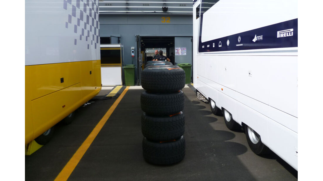 Pirelli-Reifen - GP Italien - 8. September 2011