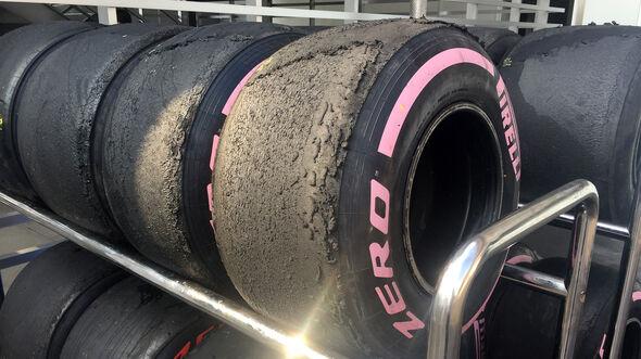 Pirelli-Reifen - GP Mexiko 2018