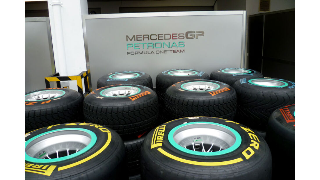 Pirelli-Reifen - GP Singapur - 22. September 2011