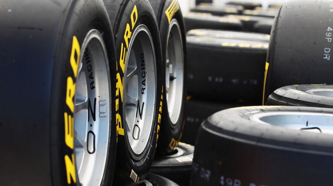 Pirelli-Reifen - GP Spanien - 10. Mai 2012