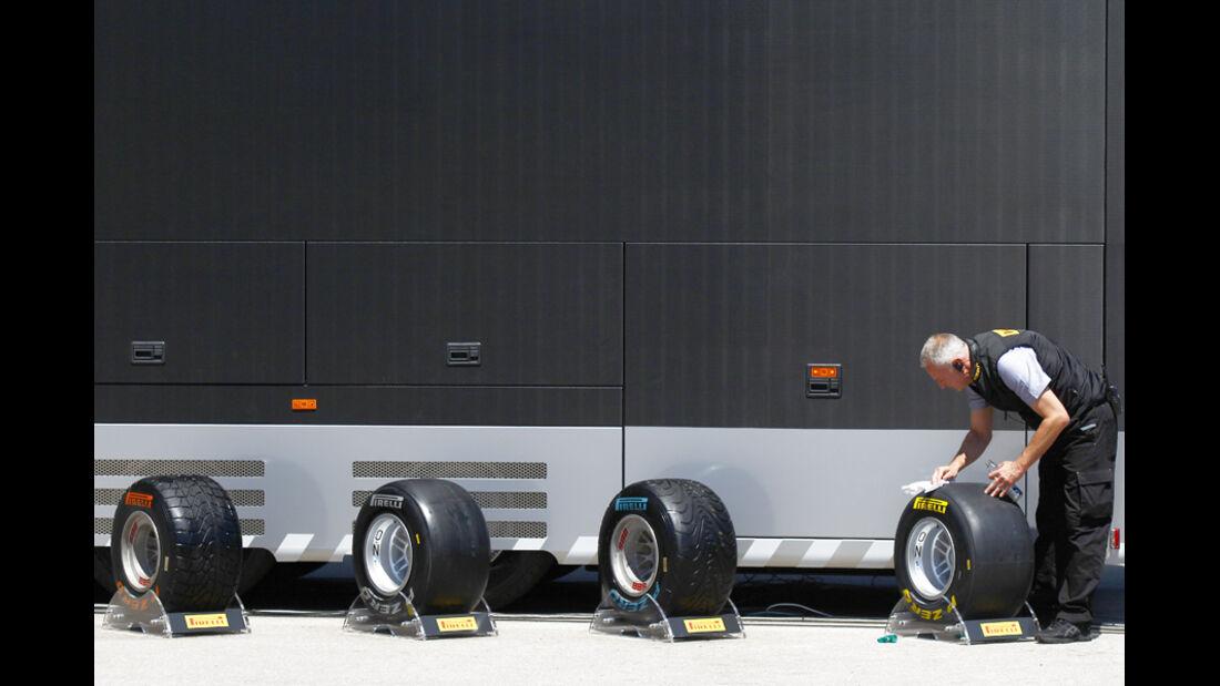 Pirelli Reifen GP Türkei 2011