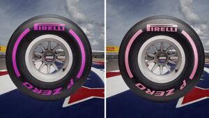 Pirelli-Reifen - GP USA 2017
