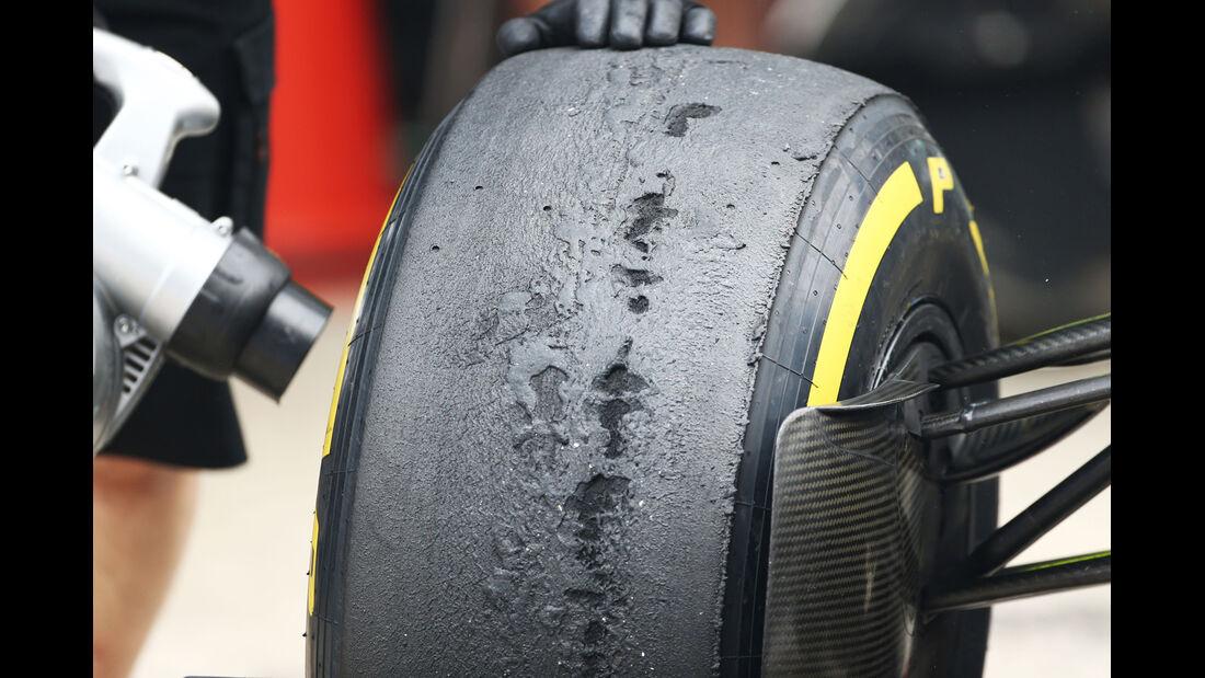 Pirelli-Reifen (Mercedes) - Formel 1 - GP Indien - 25. Oktober 2013