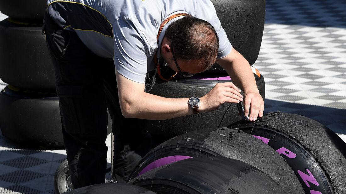 Pirelli - Reifen - Messung - GP Österreich 2016