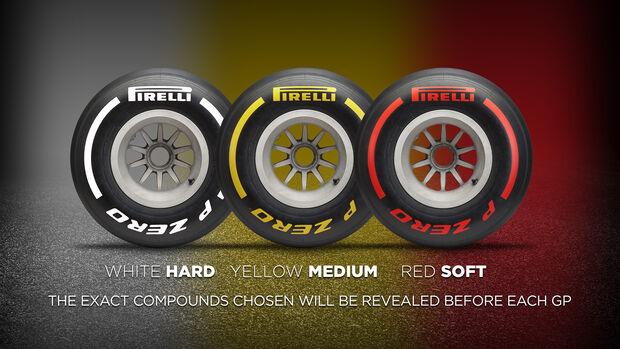 Pirelli - Reifen - Saison 2019