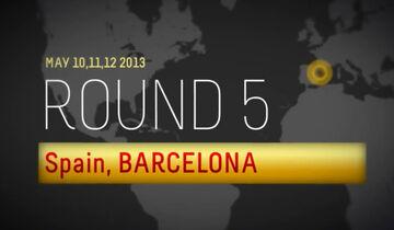 Pirelli Screenshot GP Spanien 2013